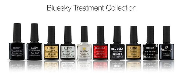 colores esmaltes semipermanentes bluesky
