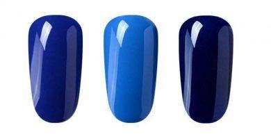 esmalte permanente azul