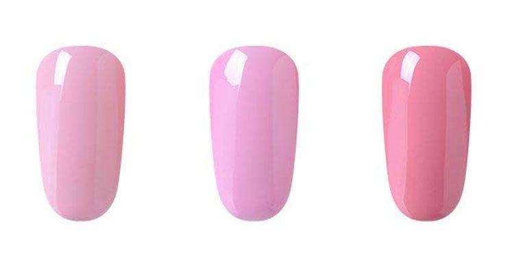 esmalte permanente rosa